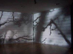 TRAMAS, video intalación, Centro Cívico GOLFERICH. Barcelona 2007. España.